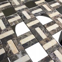 carrelage mosaique mur salle de bain et mosaique douche 1m-lotta