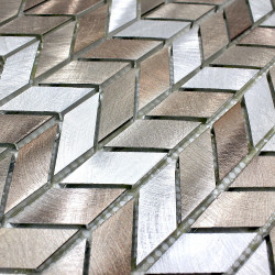 Mosaic aluminium tile kitchen and bathroom 1m-brony