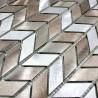 mosaico de pared aluminio azulejo cocina y bano modelo 1m-brony