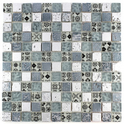 Mosaic tile wall and floor mvp-milla