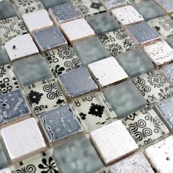 mosaique mur cuisine et salle de bain 1m-milla