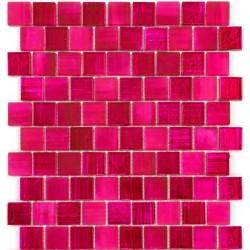 mosaique mur cuisine et credence salle de bain modele mv-drio-rose