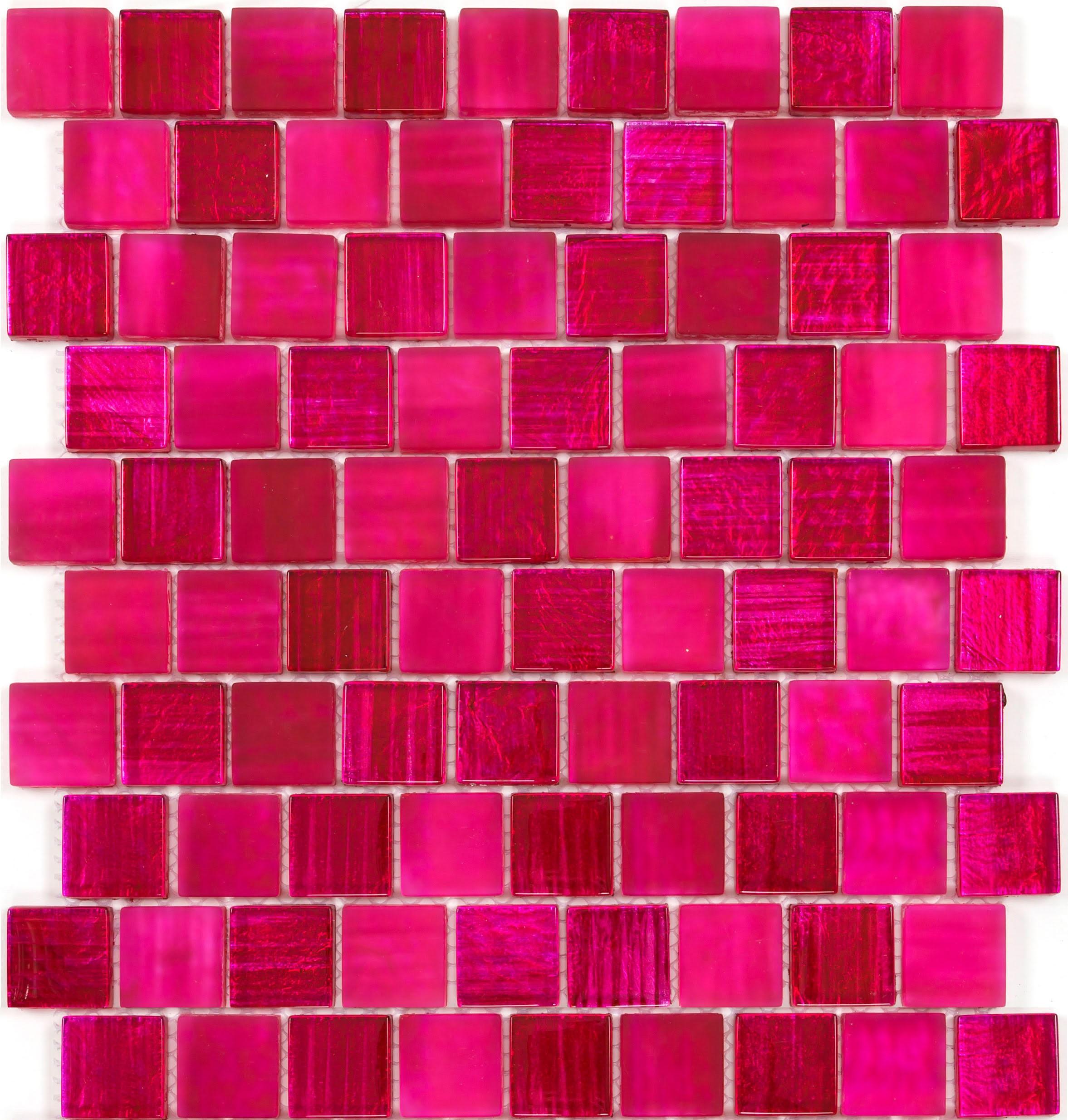 Salle De Bain Mosaique Rose ~ mosaique mur cuisine et credence salle de bain modele mv drio rose