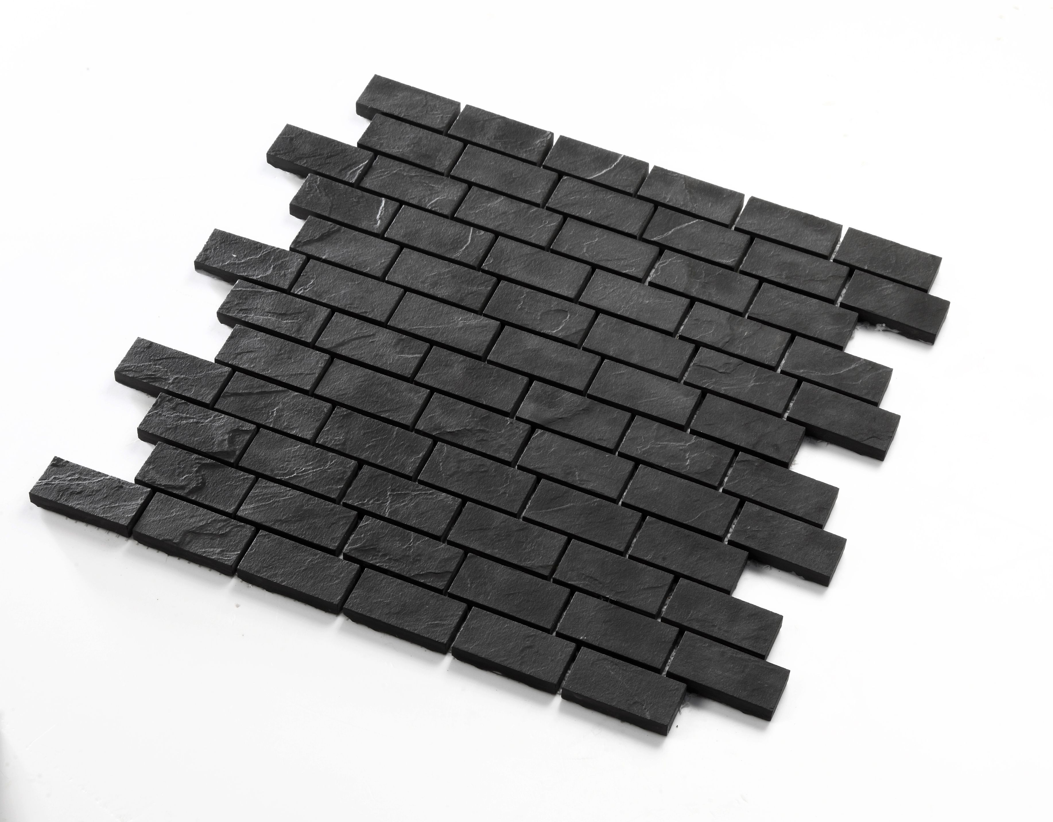 - Black Ceramic Tile Mosaic Tile Kitchen Backsplash Mp-boone
