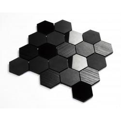 Mosaico azulejo de ceramica negro pared y suelo mp-kendal