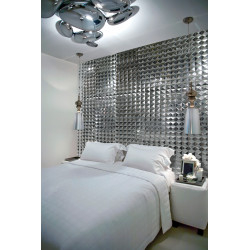 Tile wall stainless mosaic tiles ramses-miroir
