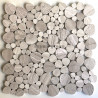 stone mosaic for floor and wall bathroom and shower pebbles neferti