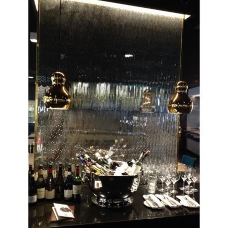 Azulejo espejo de vidrio par pared cocina modelo mv-henrik
