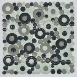 Azulejo mosaico de vidrio par pared y suelo modelo mv-wespa