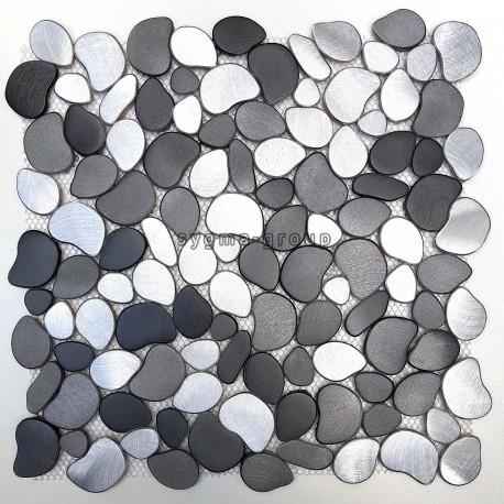 azulejo malla mosaico de aluminio cocina y bano modelo alu-oceo