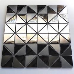 Malla azulejo de acero para cocina y bano Kubu