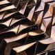 Malla Baldosa de acero inoxidable cobre para cocina o baño Vernet