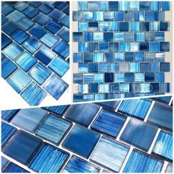 muestra mosaico de vidrio modelo drio bleu