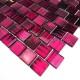 Mosaico de vidrio par pared y suelo azulejo modelo mv-drio-violet