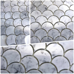 carrelage mosaique salle de bain echantillon cuisine marbre TIMPA