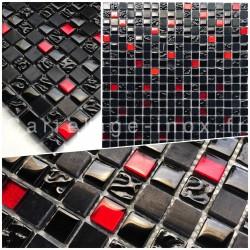 mosaico muestra malla ducha y bano modelo AGATI