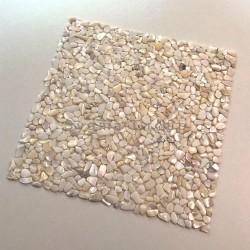 Malla Mosaico de nácar real baldosas de suelo y pared DRUNE