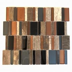 Mosaic wall tile model JAELL