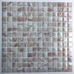 mosaico de vidrio azulejo Speculo Blanc