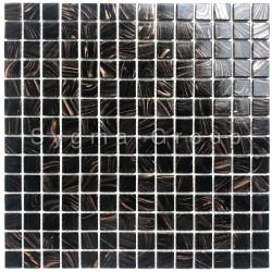 mosaico de vidrio suelo y pared Speculo Noir