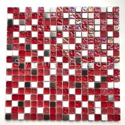 Mosaico de vidrio y piedra en el suelo o la pared Gilmor