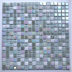 Mosaic glass and stone floor or wall Orell