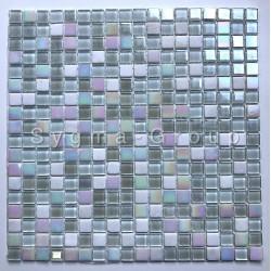 Mosaico de vidrio y piedra en el suelo o la pared Orell