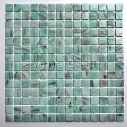 Mosaico de vidrio suelo y pared Speculo Celadon