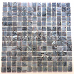 mosaic and grey tiles for wall or floor of bathroom and shower room Speculo Charron
