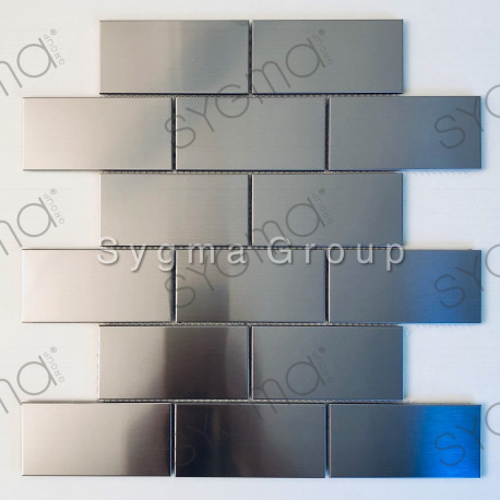 mosaic and tile wall stainless steel kitchen LOFT