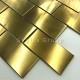 Kitchen tiles stainless steel wall tile backsplash LOFT GOLD