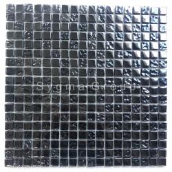 Mosaico de vidrio negro para el baño la ducha y la cocina Kerem