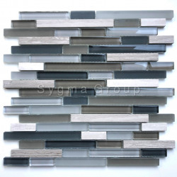 Tiles and mosaic for kitchen and bathroom walls Kiyo