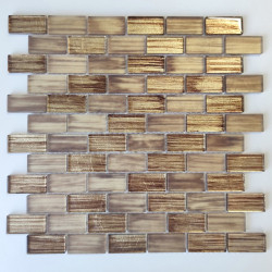 Mosaic for bathroom and kitchen walls backsplash Haines Marron