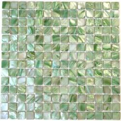Malla azulejos de nacar cocina y ducha Nacarat Vert