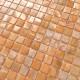 mosaique carrelage de nacre pour sol et mur 1m Nacarat Orange