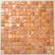 tile mother of pearl mosaic floor and wall 1m Nacarat Orange