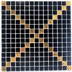 azulejo de mosaico de vidrio para ducha y bano Allevar