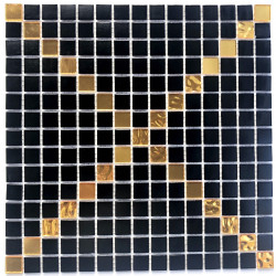 Glass mosaic tile floor and wall Allevar