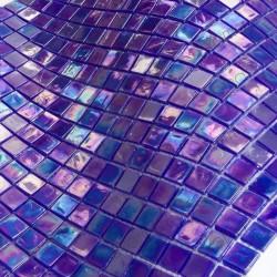 mosaico de baño vidrio suelo y muro 1m Imperial Petrole