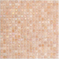 glass mosaic floor and wall for bathroom and shower Imperial Rose