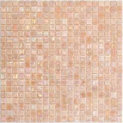 malla mosaicos suelo y pared de vidrio para baño y ducha Imperial Rose