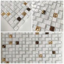 Muestra de azulejos y mosaicos Glow