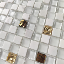 Baldosas mosaicos de pared de cocina y baño 1m GLOW