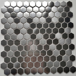 Mosaic stainless steel tile wall and floor Rossini
