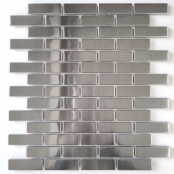 Mosaico de acero inoxidable de baldosas LOGAN