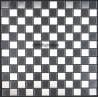 Mosaique et carrelage inox, modele Damier 25