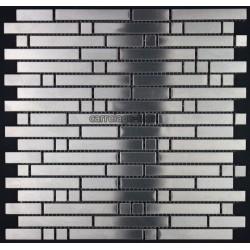 Mosaique et carrelage inox 1 m2 mixte 98