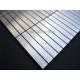 teja de acero inoxidable mosaico plan de cocina Lignus 100