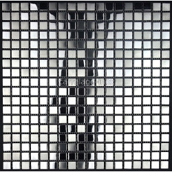 mosaic stainless steel kitchen tiles mosaic shower Fusion
